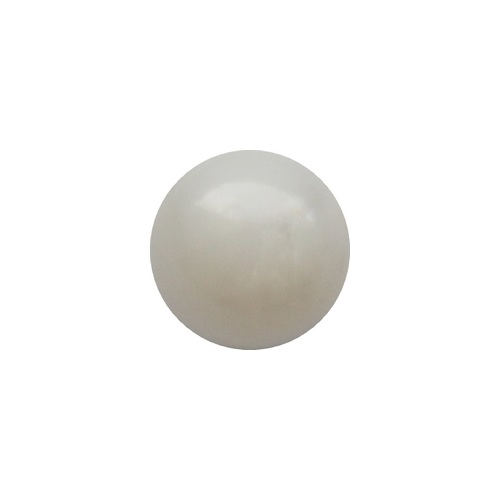 Mother of Pearl, round, no hole, 8mm; per 5 pcs